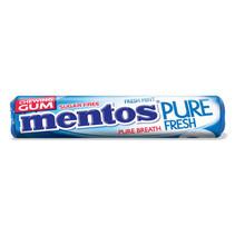 MENTOS - gum rol pf fresh mint - 24 rollen