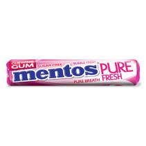 Mentos - Mentos Gum Rol Pf Bubble Fresh, 24 Rollen
