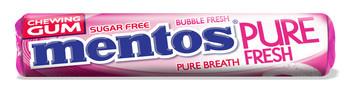 Mentos Mentos - Mentos Gum Rol Pf Bubble Fresh, 24 Rollen