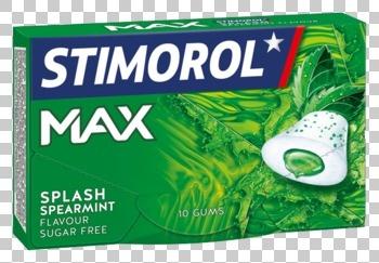 Stimorol Stimorol - max splash spearmint - 16 pakken