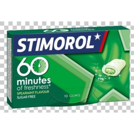 Stimorol Stimorol - 60 minutes spearmint - 16 pakken