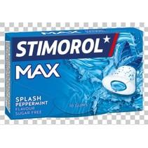 Stimorol - max splash peppermint- 16 pakken