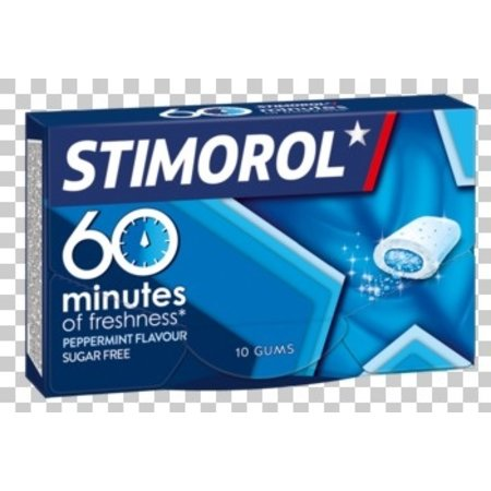 Stimorol Stimorol - 60 minutes peppermint- 16 pakken