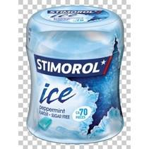 Stimorol - ice peppermint bottle - 6 stuks