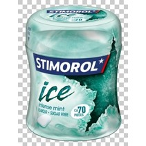 Stimorol - ice intense mint bottle - 6 stuks