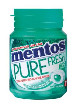 Mentos MENTOS - gum pure fresh green - 6 stuks