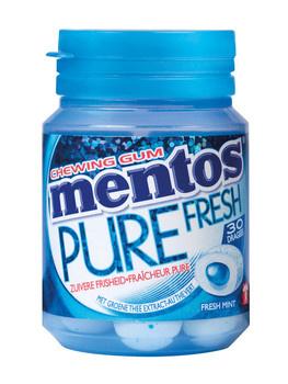 Mentos Mentos - Mentos Gum Pure Freshmint, 6 Stuks