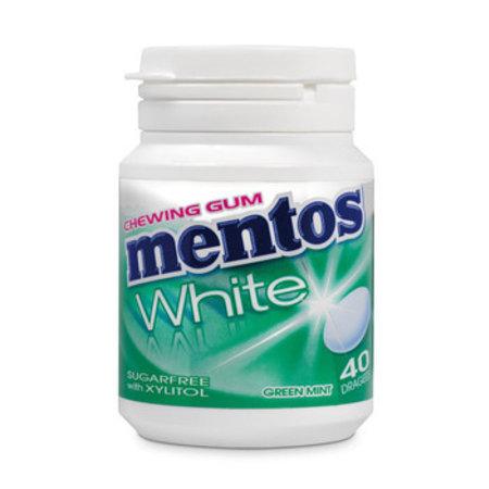 Mentos Mentos - Mentos Gum White Green Mint, 6 Stuks
