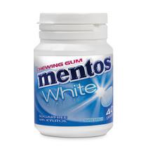 MENTOS - gum white sweet mint - 6 stuks
