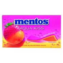 MENTOS - gum aquakiss strawb/mandarijn - 20 pakken