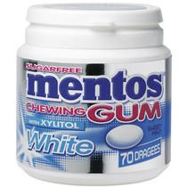 MENTOS - gum white sweetmint 70s- 8 stuks