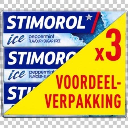 Stimorol Stimorol - Stimorol Ice Peppermint 3Pk, 12 3 Pack