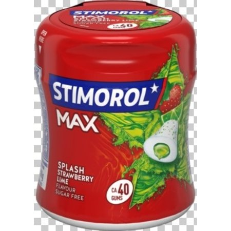 Stimorol Stimorol - max splash straw lime- 6 pakken