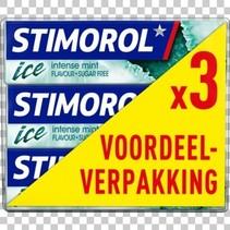 Stimorol - Stimorol Ice Intense Mint 3Pk, 12 3 Pack