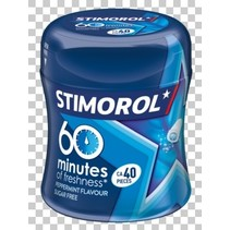 Stimorol - 60 minutes pepperm bottle- 6 stuks