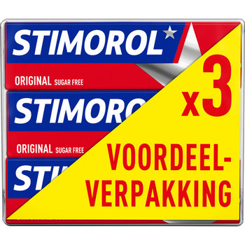 Stimorol Stimorol - Stimorol Original 3Pack Foil, 12 3 Pack