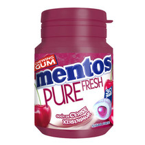 Mentos - Pure Fresh Cherry 30St, 6 Stuks
