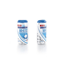 MENTOS - white always peppermint - 10 stuks