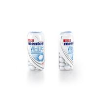 MENTOS - gum white always sweetmint - 10 stuks