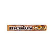 MENTOS - single choco - 24 rollen