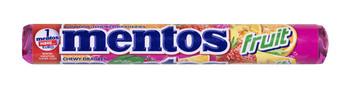 Mentos Mentos - Mentos Fruit Rol, 40 Rollen