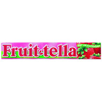 Fruittella - fruittella-fruittella aardbei single - 20 rollen