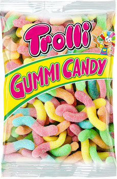 Trolli Trolli - Gloeiwormen 8X1Kg, 8 Kilo
