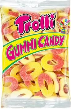 Trolli Trolli - Perzikringen 6X1Kg, 6 Kilo