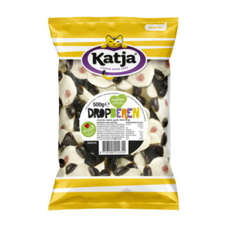 Katja Katja - dropberen 12x500gr - 12 zakken