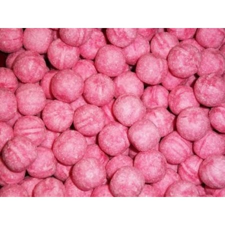 Rocket Balls Rocket Balls - zure kogels aardbei bulk 4kg - 4 kilo