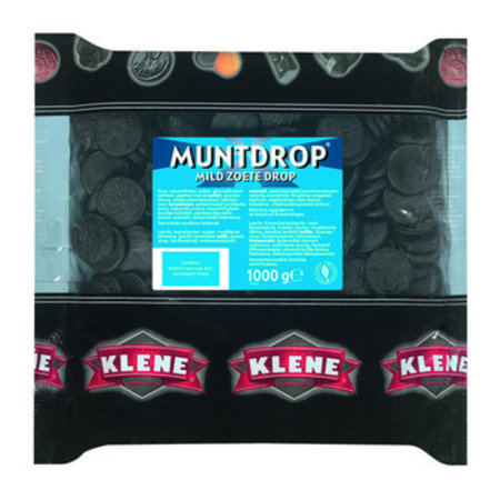 Klene Klene - Geldlijn Muntdrop 6X1Kg, 6 Kilo