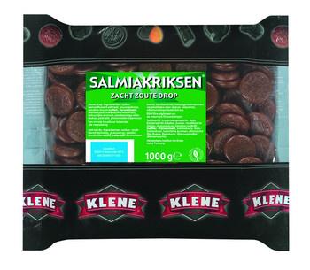 Klene Klene - Geldlijn Salmiakriksen 6X1Kg, 6 Kilo