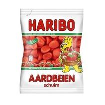 Haribo - cv schuim aardbeien 200g - 9 zakken