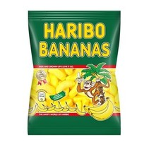 Haribo - cv schuim bananen 200g - 8 zakken