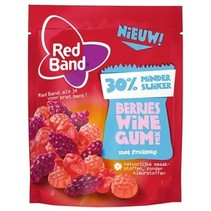 Red Band Venco - berries winegummix 210g - 10 zakken