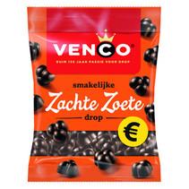 Venco - zachte zoete drop 200g - 12 zakken