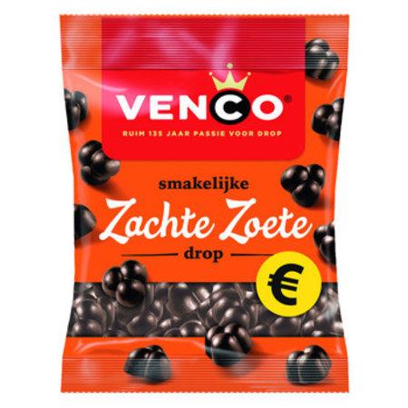Venco Venco - zachte zoete drop 200g - 12 zakken