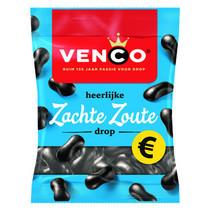 Venco - zachte zoute drop 200g - 12 zakken