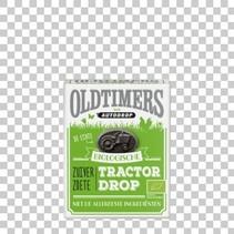 OLDTIMERS - zuiver zoete tractordropg- 6 dozen