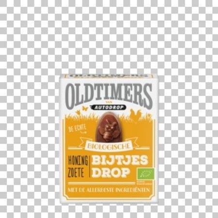 Oldtimers OLDTIMERS - oldtimers-bio! honing zoete bijtjesdropg- 6 dozen