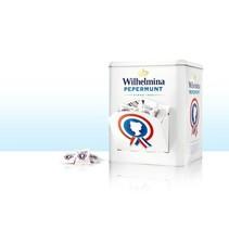 Wilhelmina - blik wilhelmina pepermunt 400s- 1 blikken
