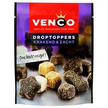 Venco - droptoppers krak.zacht 235g - 10 zakken
