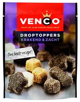 Venco Venco - droptoppers krak.zacht 235g - 10 zakken