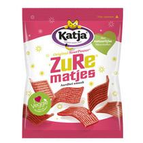 Katja - kv zure aardbeimatjes 70gr - 24 zakken