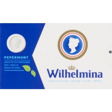 Wilhelmina Wilhelmina - pepermunt 100gr - 12 pakken