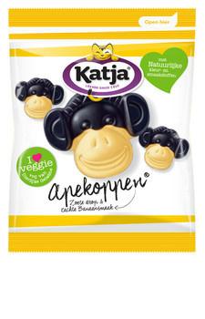 Katja Katja - kv apekoppen 65gr - 24 zakken
