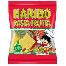 Haribo - kv 75gr pasta frutta - 30 zakken
