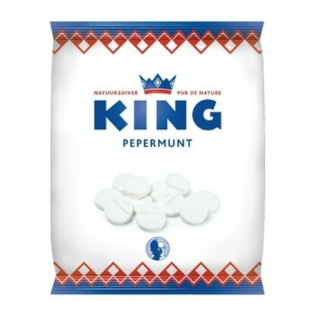 King King - pepermunt 200gr - 12 zakken