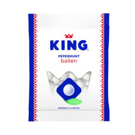 King King - pepermuntballen 250gr - 12 zakken