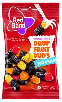 Red Band Venco Red Band Venco - kv dropfruit duo's 100g - 24 zakken
